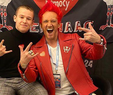 Xavier Wiśniewski ma dobre relacje z tatą, Michałem Wiśniewskim