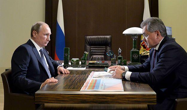 Rosja atakuje w Syrii także z morza. Putin: od początku interwencji ostrzelano 112 celów