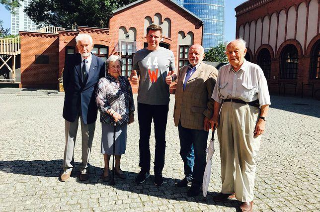 Filip Chajzer i powstańcy warszawscy