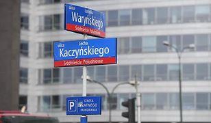 Trzaskowski zapowiada ulicę Lecha Kaczyńskiego w Warszawie. Wiceszef MSWiA nie wierzy