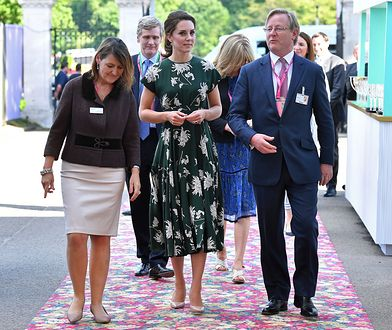 Księżna Kate znów sama. Te zdjęcia nie utną plotek