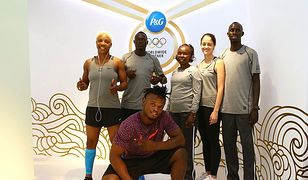 At the P&G Olympic Village Salon on August 5, 2016 in Rio de Janeiro, Brazil.