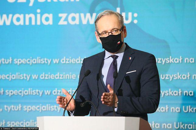 Koronawirus w Polsce. Adam Niedzielski: mamy nowe przypadki zakażeń koronawirusem