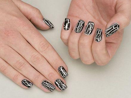 Crackle nails, czyli pękające lakiery do paznokci