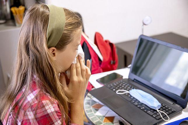 Lekcje online dla dzieci z katarem. Tego chcą rodzice