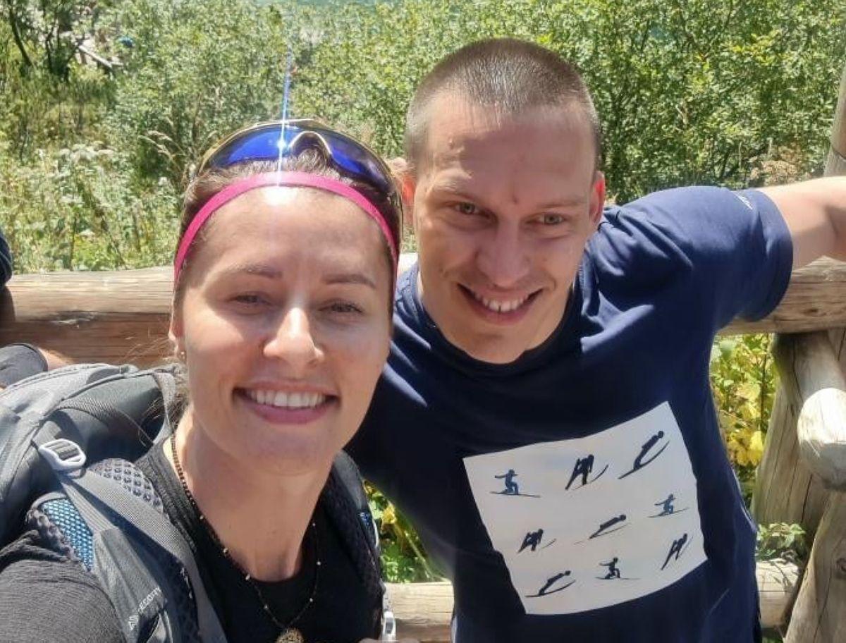 Na zdjęciu Weronika Nowakowska i Tomasz Ryś