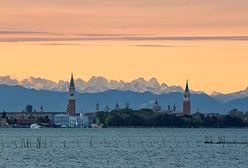 """Dolomity i Wenecja na jednym zdjęciu. To nie Photoshop, tylko """"stravedamento"""""""