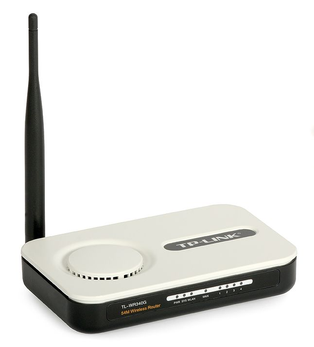 TP LINK WR340g. Mój stary router :)