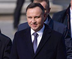 Andrzej Duda przyłapany. Prezydent zrobił to pod osłoną nocy
