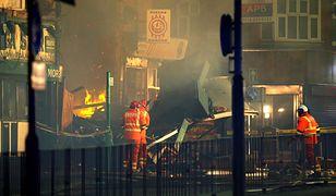 Do wybuchu doszło na Hinckley Road w Leicester
