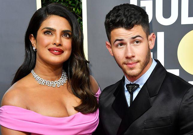 Nick Jonas pokazał zdjęcie ze starszą żoną. Priyanka Chopra nazywana jest w uroczy sposób