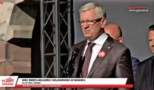 Jacek Jaśkowiak wspomniał o incydencie z prezydent Gdańska i premierem Mateuszem Morawieckim