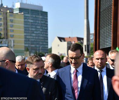 Premier Mateusz Morawiecki w Gdańsku, 3 czerwca