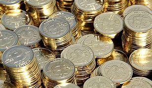 Wizualizacja bitcoina - waluta w rzeczywistości jest tylko cyfrowym zapisem jej wartości