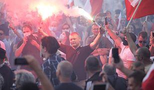 Marsz Powstania Warszawskiego. Incydenty podczas przemarszu przez Warszawę