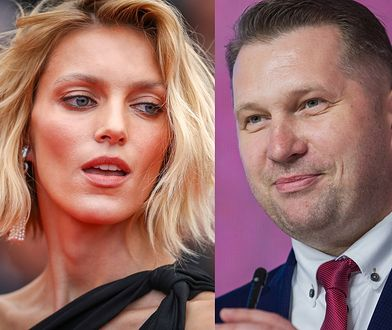 """Anja Rubik zaprasza Czarnka: """"Minister potrzebuje wyedukowania"""""""
