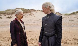 Emma D'Arcy i Matt Smith, czyli księżniczka Rhaenyra Targaryan i księżę Deamon Targaryen.