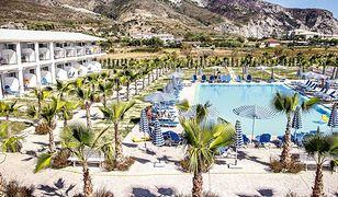 Hotel Caretta Island w Kalamaki, w którym wydarzył się wypadek