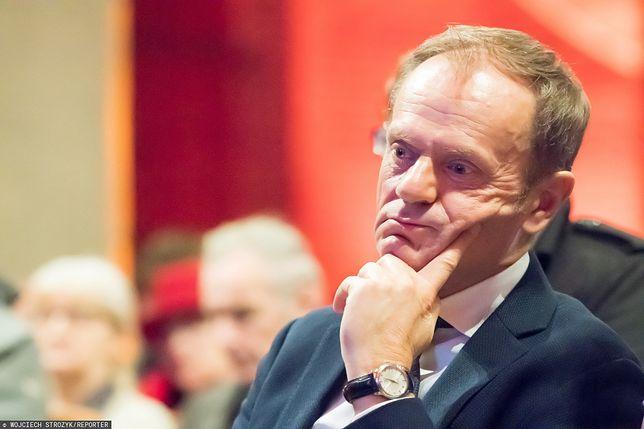 Donald Tusk ostro o Jarosławie Kaczyński