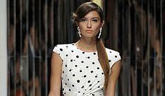 Sukienka w groszki - wiosna i lato 2013