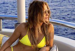 Jennifer Lopez odpoczywa w Portofino. Fani od razu reagują na jej widok