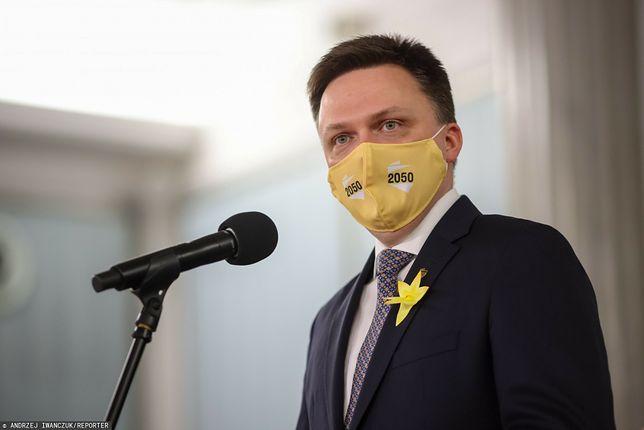 Fundusz Odbudowy. Szymon Hołownia ocenia głosowanie w Sejmie