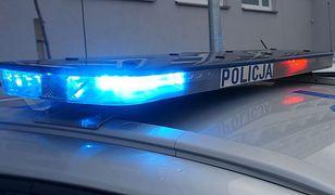 Śląsk. Pijany uciekał przed policją, staranował bramki przy wyjeździe z autostrady A4.