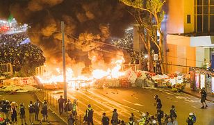 Hongkong. Protesty przybierają na sile