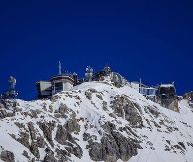 Stacja badania środowiska Schneefernerhaus na szczycie Zugspitze (2650 m n.p.m.)