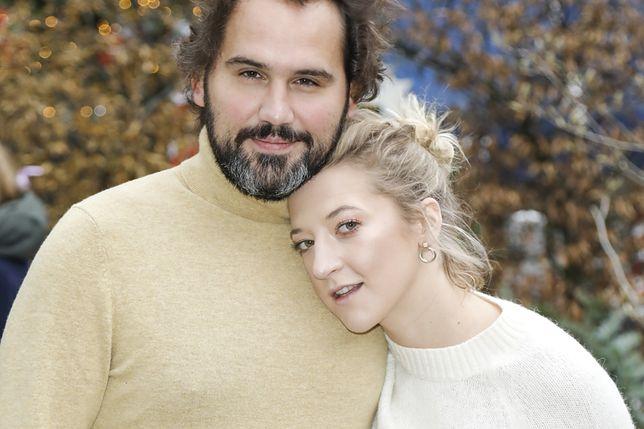 Lara Gessler z mężem Piotrem