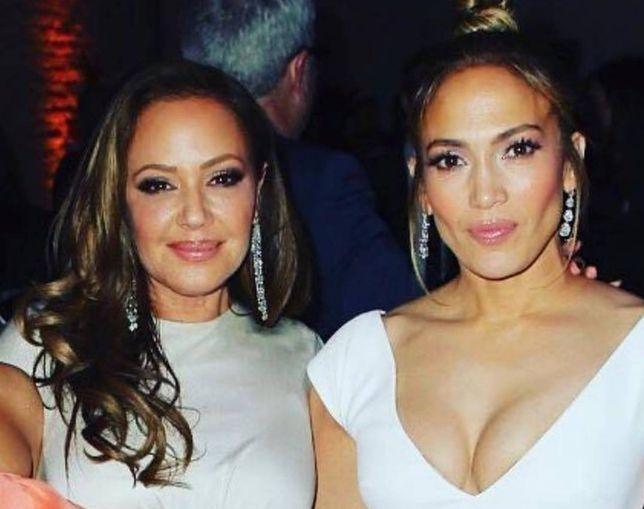 Leah Remini i jej przyjaciółka Jennifer Lopez. Obie wiele razem przeszły