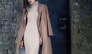 Swetry i sukienki o warkoczowym splocie znowu będą popularne