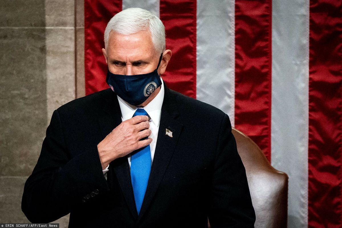 Były wiceprezydent USA Mike Pence po poważnej operacji