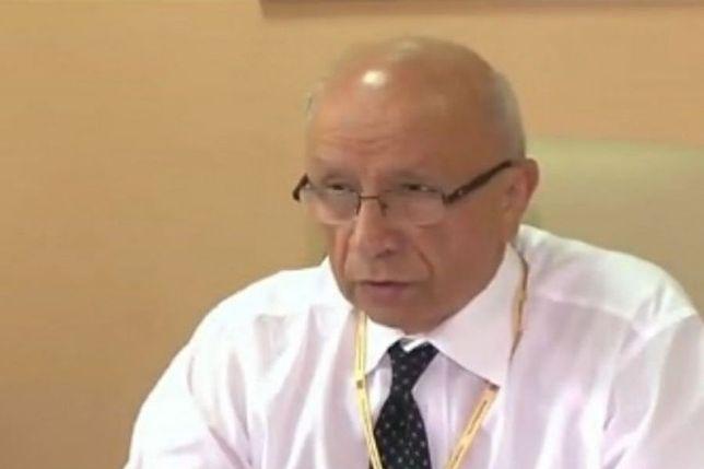Decyzja o umorzeniu śledztwa ws. prof. Chazana jest prawomocna