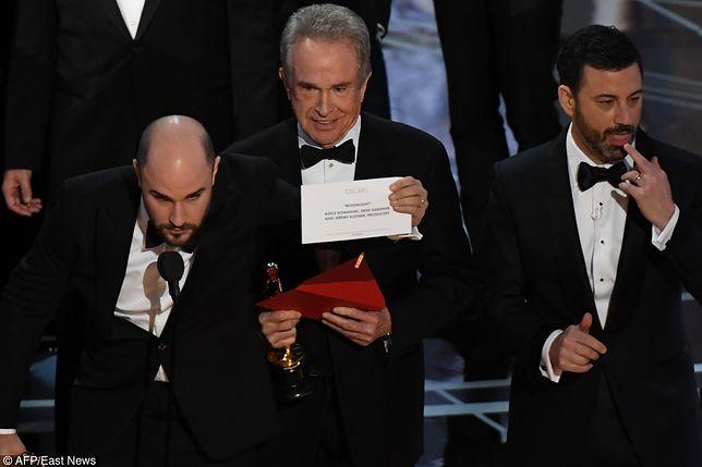 Oscary 2017: ta wpadka przejdzie do historii. Jak do niej doszło?