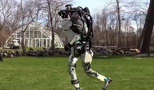 Robot świetnie radzi sobie z bieganiem