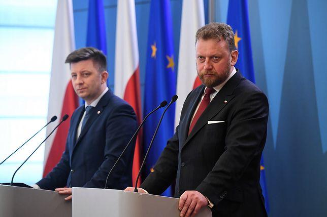 Koronawirus z Chin. Michał Dworczyk oraz Łukasz Szumowski na konferencji prasowej