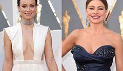 Oscary 2016: Najpiękniejsze dekolty gwiazd