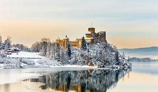Polskie zamki są piękne także zimą