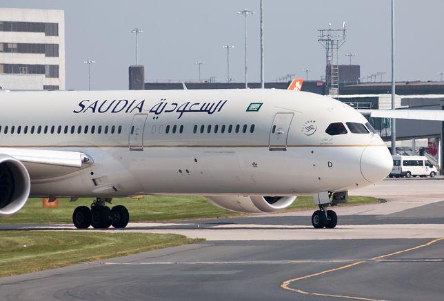 Samolot należący do linii Saudia musiał zawrócić do Dżuddy
