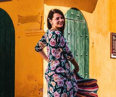 Dominika Żółkowska w Cartagenie, Kolumbia