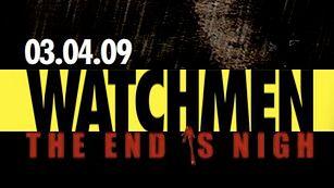 Watchmen: The End is Nigh z datą premiery