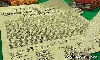 Podpisanie aktu deklaracji niepodległości