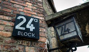 Blok 24 w obozie Auschwitz-Birkenau
