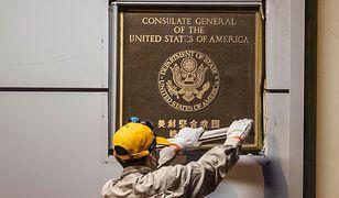 Chiny przejęły konsulat USA w Chengdu