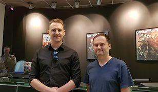 Sebastian Wojciechowski (po prawej), szef studia People Can Fly