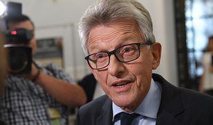 Stanisław Piotrowicz zapowiedział, że nie ma zamiaru przepraszać Małgorzaty Gersdorf