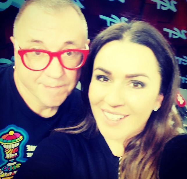 Beata Tadla i Jurek Owsiak