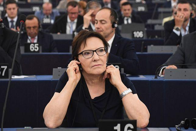 Ewa Kopacz została wybrana na stanowisko wiceszefa Parlamentu Europejskiego