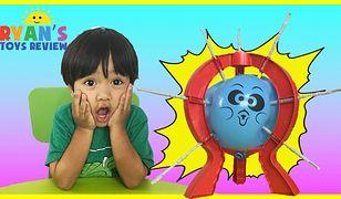 Rodzice 6-latka testy zabawek zamieszczają na kanale Ryan ToysReview na Youtube.